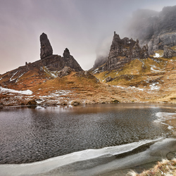 Schotland old man of storr