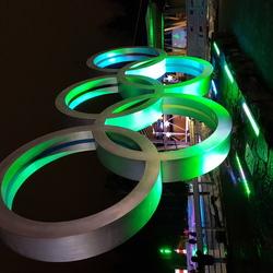 Olympische ringen in Whistler