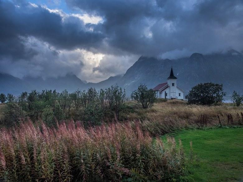 Kerkje in Noorwegen -