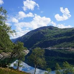 Berdalsvatnet, Noorwegen