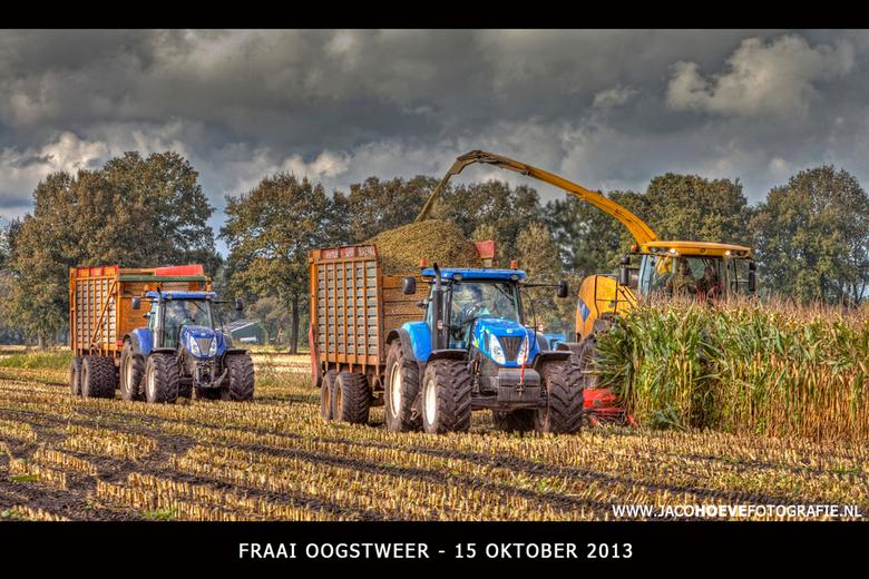 Fraai oogstweer - Genomen op 15 oktober 2013 in Staphorst