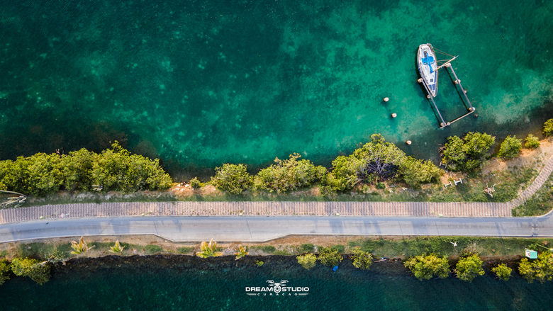 Hit the road - Spaanse water, Curacao