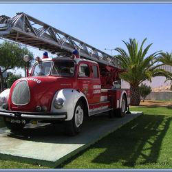 Oldi brandweer.