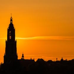 Great orange evening
