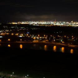 Spijkenisse by night