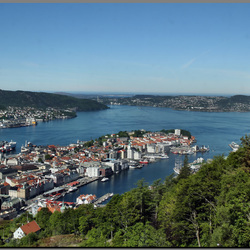 Bergen (Noorwegen) de goudenstad voor Nederland