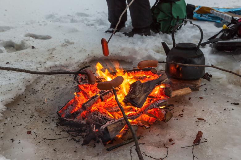 Vuur op ijs -