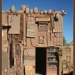 Bazar Ait Benhaddou Marokko