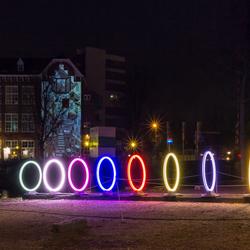 Bands of Friendship - Amsterdam Light Festival