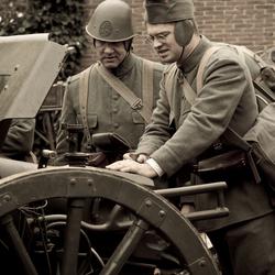 Soldaten in Elburg