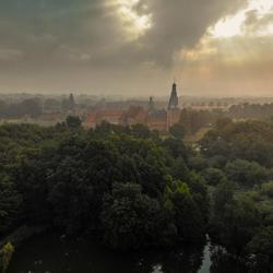 De toren van kasteel Raesfeld
