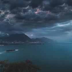 Thunderstorm Gardameer