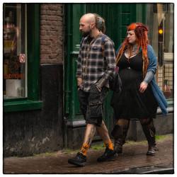 Dreadlock couple