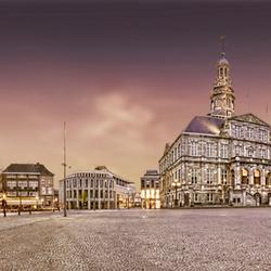 Maastricht, Markt, Avond