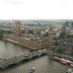 Londen, parlementsgebouw