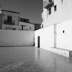 Sicilie - Cefalu voetbalplein