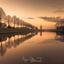 Golden hour Dokkum