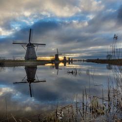 Hollandse glorie op Kinderdijk