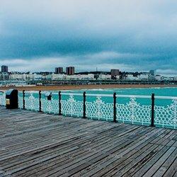 Brighton pier a'la HDR