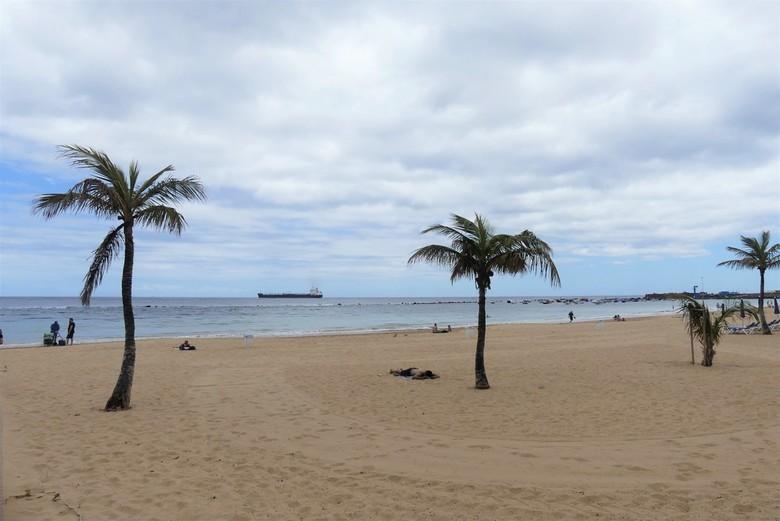 P1060725 Tenerife  N Zuidkant  strand plaatsje  Playa de las Teresitas 21 mei 2019  - Hallo Zoomers , GROOT kijken en even lezen . Vanaf het lunch adr
