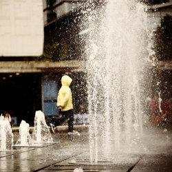 fontein in Manchester