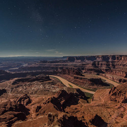 Canyonlands by night