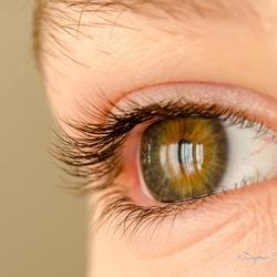 mijn oogappeltje's oog