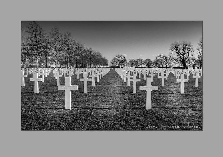 Thank you..... - Zij mogen nooit vergeten zijn......De Amerikaanse Begraafplaats Margraten, in het Engels: Netherlands American Cemetery and Memorial,