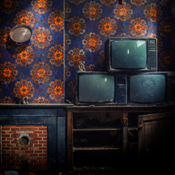 Er is geen bal op de TV ...
