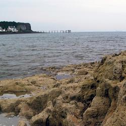 De Noordzee vanaf de overkant