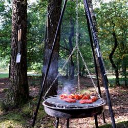 BBQ in het bos