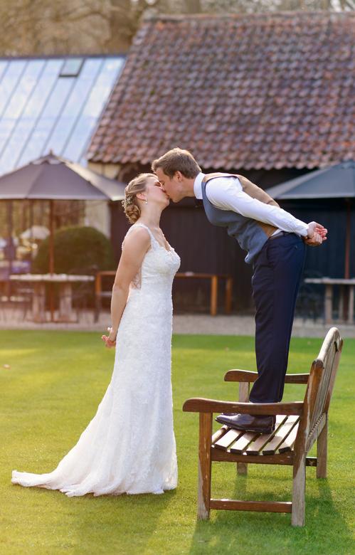kiss - wedding