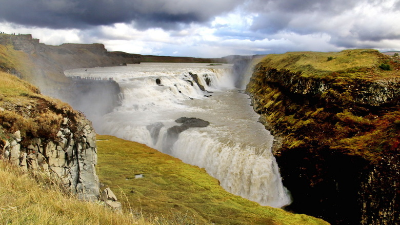 IJsland -47- - Gullfoss waterval