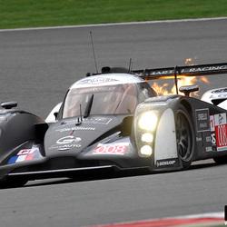 Vlammende Lola Aston Martin