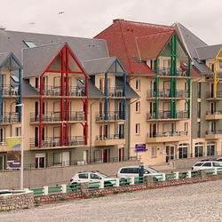 Cayeux-Ser-Mer Normandië Frankrijk.