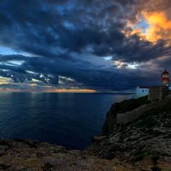 Zonsonergang Kaap St Vincent