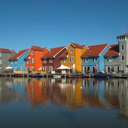 Huisjes reitdiephaven Groningen
