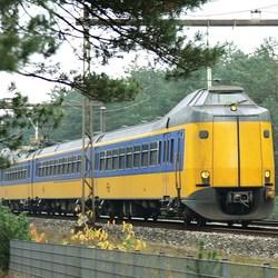 Hé,een rijdende trein!!!