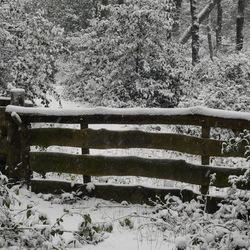 Meppen (Drenthe) in de sneeuw