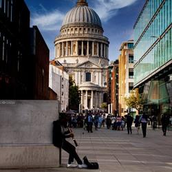 Straat artiest, Engeland