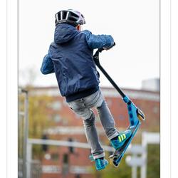 Karsten op de skatebaan in Delft