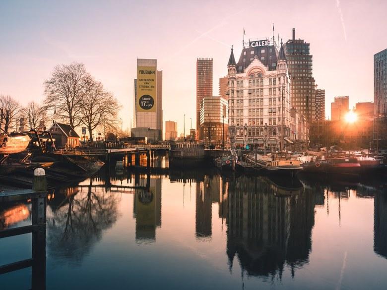 Het Witte Huis - Rotterdam - Je zou je niet meer voor kunnen stellen dat dit ooit het hoogste kantoorgebouw van Europa is geweest, maar Witte Huis in