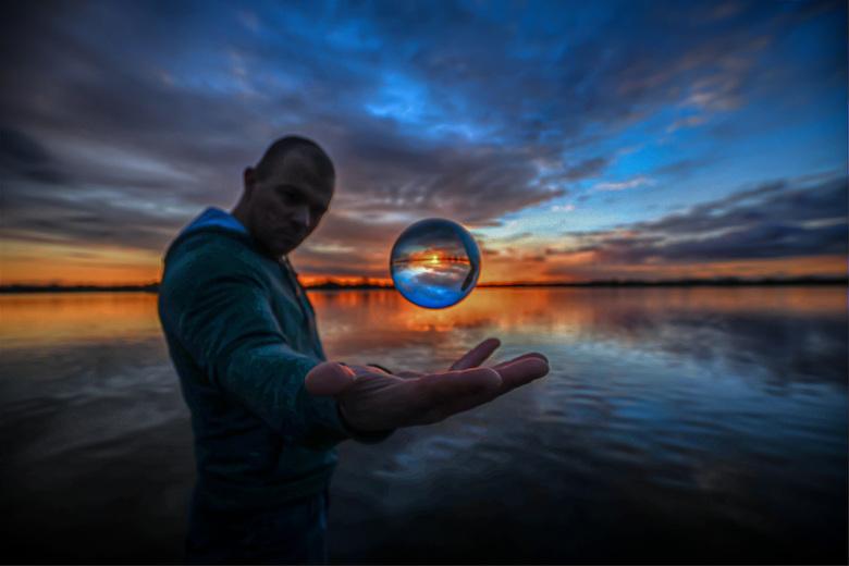 My magic glassball -