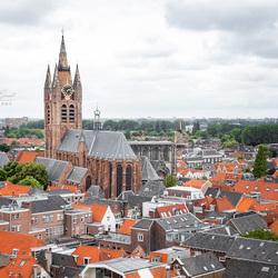 Skyline van Delft