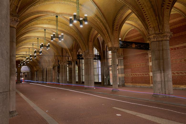 fietsdoorgang Rijksmuseum