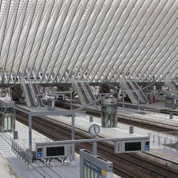 Overzicht station Luik