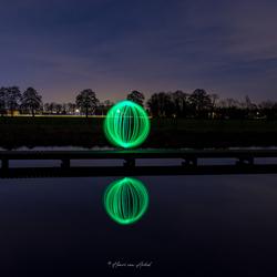 Lightpainting Ball