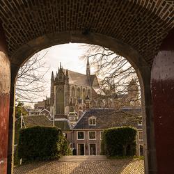 Doorkijkje in Delft