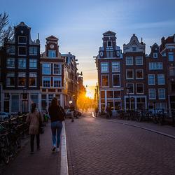 Amsterdam, blauwe uurtje