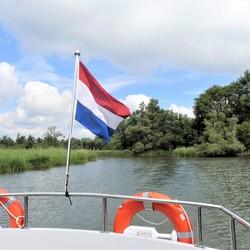 P1070220  Bevrijdingsdag   Foto Biesbosch  rondvaart 11 juni 2019